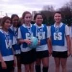 Barnet Yr8 'A' Netball Tournament