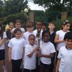 The Barnet Schools Torch Relay Day 1