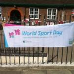 The Barnet Schools Torch Relay Day 2