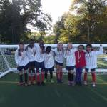 Martin Victorious at the Mixed Football Comp