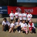 Team Barnet at the London School Games