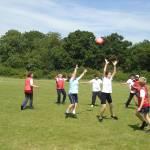 Broadfeilds host Ultimate Frisbee