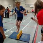 St Michaels Jump to Sportshall Success