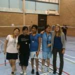 Senior Badminton Competitions Goes Down a Sma